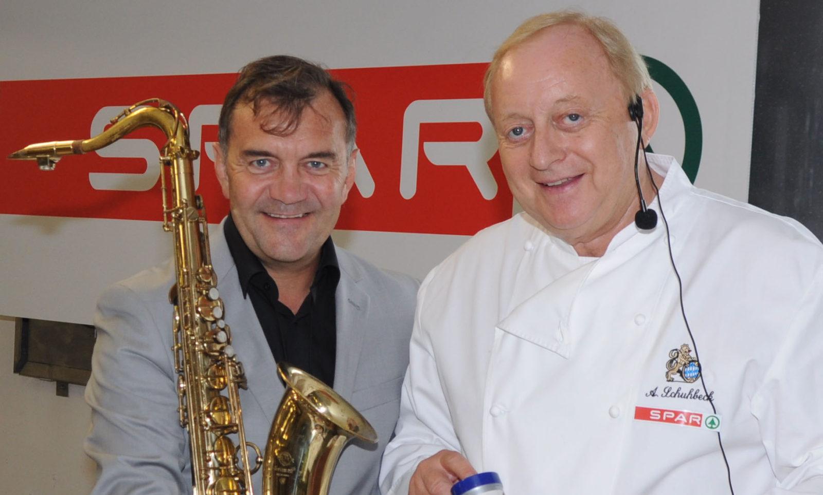 Alfons Schuhbeck Roni Haug Mister Saxr