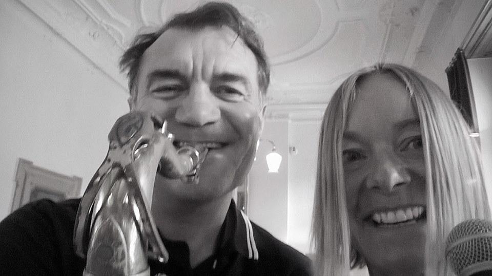 Saxophonist Zürich Mister Saxr und Ann Meldgaard Nielsen