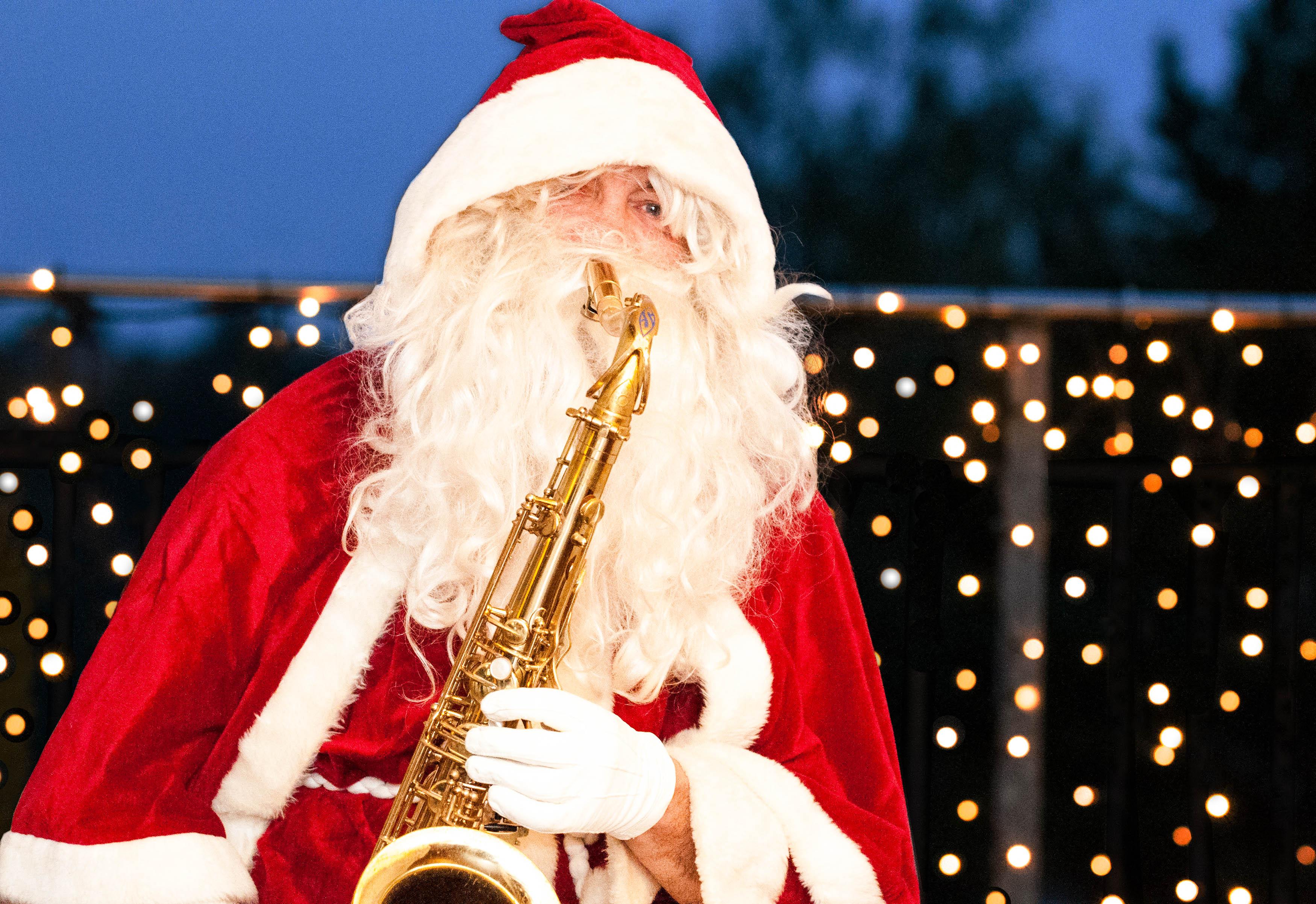 Weihnachtsmarkt Winterthur Saxophon
