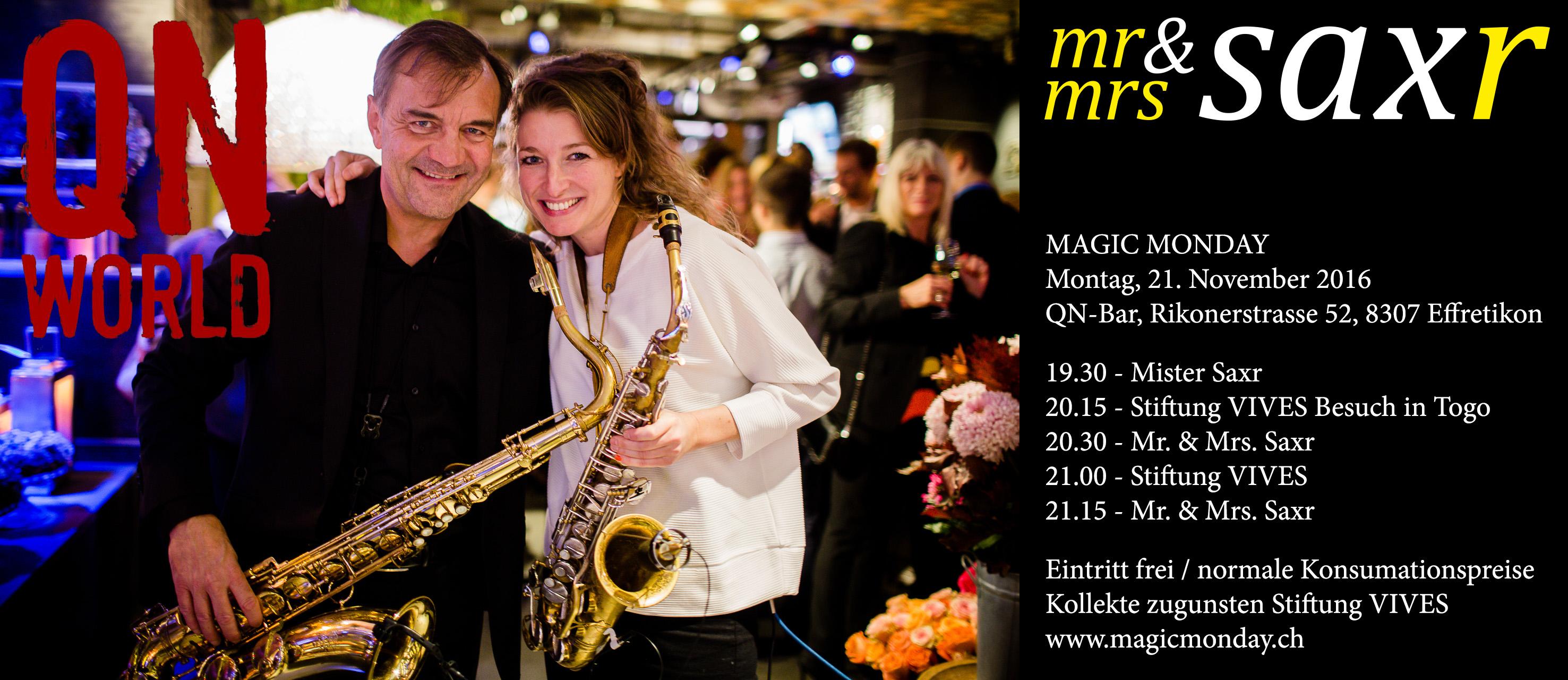 live Saxophonist - Saxophon Bossa Nova Jazz-Standards Pop-Klassiker Lovesongs bis zu Disco-Krachern Mister Saxr erfüllt als Live Saxofonist Musikwünsche